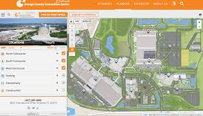 Orange County Convention Center Floor Plan orange county convention center launches interactive map with