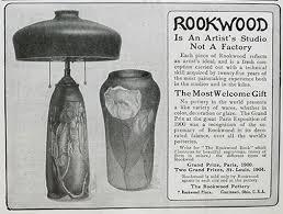 Rookwood Vase Value 1905 Rookwood Pottery Ad Lamp U0026 Vase Vintage Magazine Ads