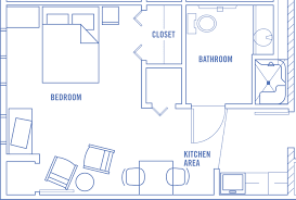 1 Bedroom Garage Apartment Floor Plans by Apartment 1 Bedroom Apartments Floor Plan