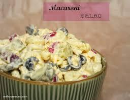 pasta salad with mayo macaroni salad