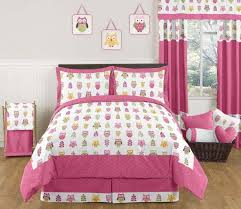 bedroom gorgeous full size pink and blue chevron kids bedding set