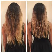 soft under cut hair before and after long layers haircut soft undercut texture