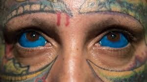 scary new trend people are tattooing the whites of their eyes