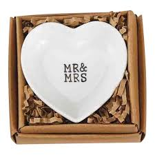 Heart Shaped Wedding Rings by Mud Pie Heart Shaped Wedding Ring Dish Decorative Accessories