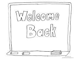 welcome back coloring pages fablesfromthefriends com