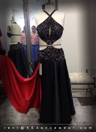 ballroom dress rental u2013 black red u2013 paso doble id 276 ke dancewear