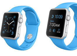 apple watch light blue apple watch sport review apple sets high bar for smartwatches on