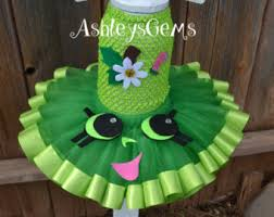 Apple Halloween Costume Baby Shopkins Tutu Dress Shopkins Birthday Apple Blossom