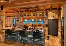 cuisine bois et fer cuisine bois et cheap design idees de remodelage