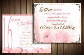 Invitation Card Example Birthday Invitation Card By Master Grap Design Bundles