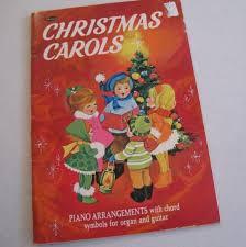vintage book vintage 1957 whitman carols
