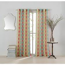 Drapery Panels With Grommets Anthology Cassidy Window Curtain Panel Bed Bath U0026 Beyond