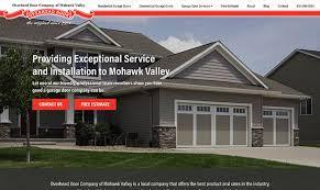 Overhead Door Bangor Maine New Website For Overhead Door Co Of Mohawk Valley Bangor Maine