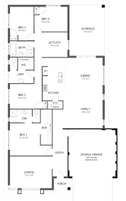 100 narrow lot floor plans house also 5 bedroom corglife