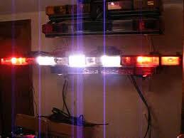 whelen ambulance light bar oscillating whelen advantedge plus flush lightbar 2 youtube