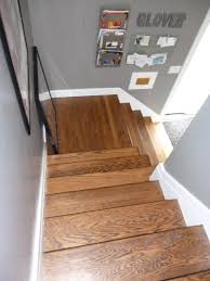 Half Wood Wall by Interior Interactive Staircase Design Ideas Using White Wood Wall