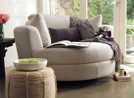Comfortable Chair And Ottoman Snuggle Chair Plush Gray And Cuddle Chair