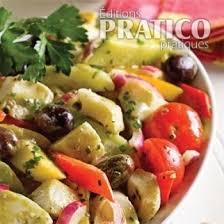 cuisiner coeur d artichaut salade andalouse recettes cuisine et nutrition pratico pratique