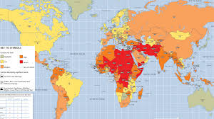 Yellowstone Eruption Map Best And Worst Nations In Which To Travel Or Invest Money World