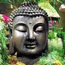 wholehouseworlds buddha garden bust reviews wayfair