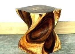 tree stump table base stump end table stump end table for sale livablemht org