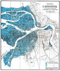 Flood Map The St Petersburg Flood Of 1824 Environment U0026 Society Portal