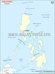 Unlabeled Map Of Africa by Blank Map Of Philippines Philippines Outline Map