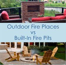 Outdoor Fireplaces And Firepits Outdoor Fireplaces Vs Pits Outdoor Living With Archadeck Of