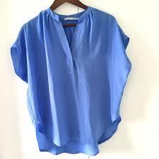 periwinkle blouse 60 violet tops periwinkle blue flowy chiffon