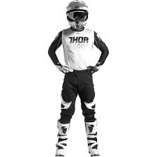 motocross gear ireland thor 2017 mx new prime fit jersey pants rohl black white lite