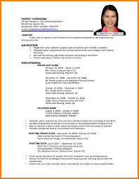 Simple Resumes Examples Resume Examples Simple Job Proposal Form Professional Resumes