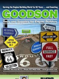 2011 goodson cylinder engine