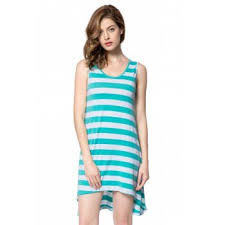 green high low dress cheap casual style online free shipping at