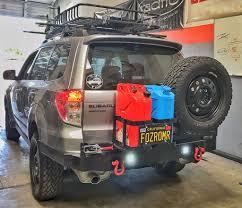 subaru custom photos of my custom rear offroad bumper on my subaru forester
