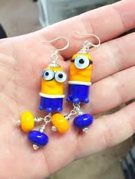 minion earrings despicable me minion minions charm bracelet by murals4u on etsy