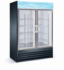 2 glass door merchandiser freezer v 2gdf b