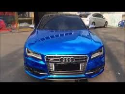 blue audi s7 audi s7 blue chrome
