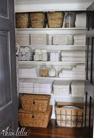 Wall Linen Cabinet Bathroom Best 25 Linen Storage Ideas On Pinterest Hall Closet