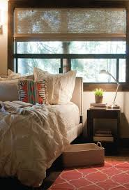 West Elm Organic Duvet West Elm Pin Tuck Shams Transitional Bedroom Apartment Therapy