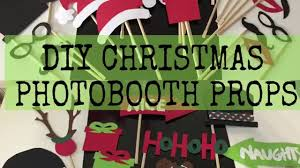 christmas photo booth props diy christmas photobooth props