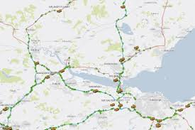 Road Map Of Scotland Scotland U0027s Gritters With Hilarious Names Including U0027gritty Gritty
