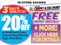 s day 3 day sale save today carpetmart com