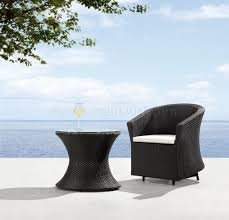 furniture luxury modern pool side patio furniture set with