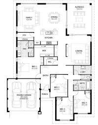 simple four bedroom house plans best four bedroom house plans 34 best display floorplans