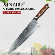 japanese steel kitchen knives xinzuo 10 inch chef knife japanese damascus stainless steel