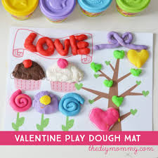 printable playdough recipes valentine s day play dough mat printable cleaning our white table