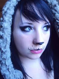 panda bear make up by gothicwolf69 on deviantart halloweeny