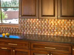 Copper Tiles For Kitchen Backsplash Copper Glass Tile Backsplash Kitchen Copper Tiles This Would Make