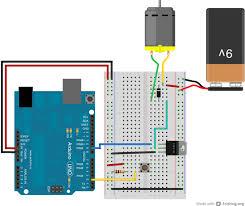 arduino transistormotorcontrol