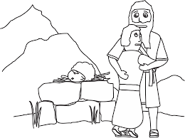 coloring page abraham and sarah hurry abraham and isaac coloring page 2 24559 9635
